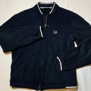 Sergio Tacchini Men's Navy Blue Track Jacket